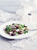 Turkey and cherry salad