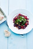 Fruity beetroot salad
