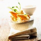 Chicory tempura