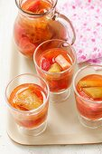 Stawberry-rhubarb compote