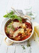 Cannelloni in tomato sauce