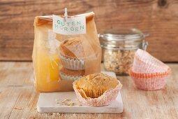 Frühstücks-Muffins mit Müsli
