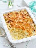 Potato gratin for Easter