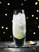 A champagne cocktail for Christmas