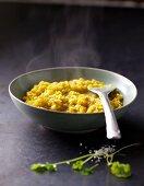 Mung dhal lentil curry