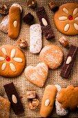 Assorted Lebkuchen (gingerbread)