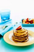 Almond butter pancakes