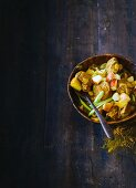 Lamb curry with ginger and apple