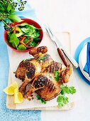 Cider and spice marinated chicken