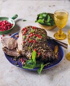 Leg of lamb with za'atar