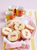 Pink Ribbon Biscuits
