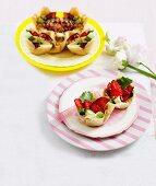 Strawberry Salad Cups