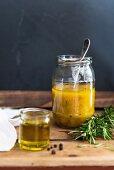 Rosemary and apricot marinade