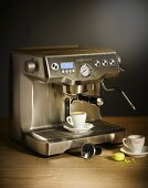 An espresso machine (Gastroback)