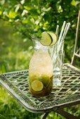 Caipirinha (drink with Chachaca and lime juice)