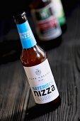 A bottle of Bayerisch Nizza Clubbier (craft beer from an artisan brewery)