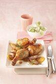 Lemon chicken with shallots