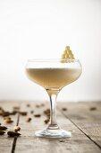 An almond cocktail