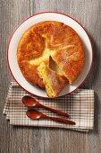 Kouign Amann (cake made from crêpe and brioche dough, France)