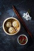 Dumplings with a meat filling