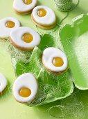Lemon Easter egg biscuits