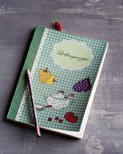 A recipe book for recipes and notes