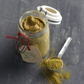 Homemade sweet mustard