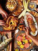 An African easter buffet