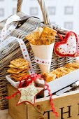 Spicy Tuscan crackers as a Christmas present