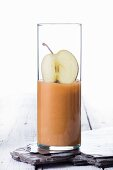 An apple smoothie