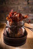 Crispy caramel bacon
