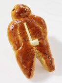 'Weckman' (a man-shaped brioche from Germany)
