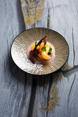 Caramelised pineapple with mandarins and figs (Turkey)