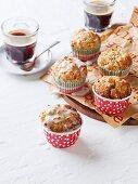 Butternut squash and banana muffins