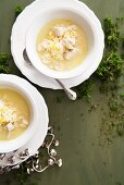 Greek chicken soup with rice