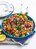 Middle Eastern Lamb and Chickpea Salad