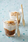 Greek yoghurt with milk caramel