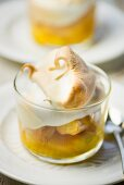 Lemon meringue pudding