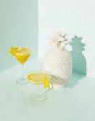 Ananas-Margaritas mit Karambolen