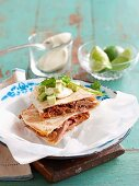 Speedy quesadillas with tuna