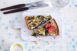 Gluten-free vegetable quiche
