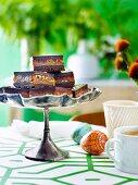 Chocolate & Salted Caramel Slice