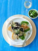 Barbecue Special - Barbecued Mushrooms with Parmesan Cream