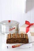 Eleventh-hour Christmas Cake