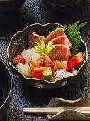 Sashimi, Restaurant Sushimoto, Frankfurt am Main