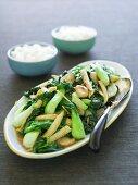 Stir-fried Chinese Vegetables