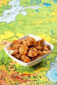 Deep-fried lamb meatballs from the Balkans