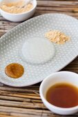 Mizu Shingen Mochi (raindrop cake from Japan)
