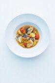 Bouillabaisse aus Süßwasserfischen
