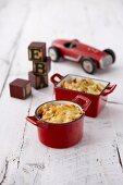 Kids Macaroni Cheese Pots